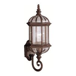 "Kichler - Kichler 9736TZ Barrie Collection 1 Light 22"" Outdoor Wall Light - Kichler 9736 Barrie Outdoor Wall Light"