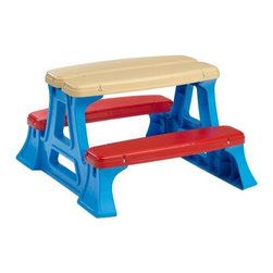 American Plastic Toys Picnic Table - This is great for really little kids because it isn't a big investment, and it allows for a kids' table at a cookout or party.