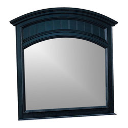 Winners Only - Cape Cod Arched Bead Board Landscape Mirror - 46 in. W x 47 in. H (50 lbs.)