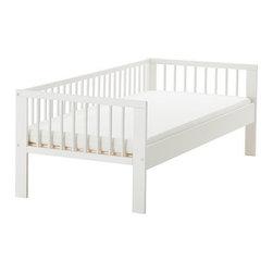 IKEA of Sweden - GULLIVER Bed frame with slatted bed base - Bed frame with slatted bed base, white