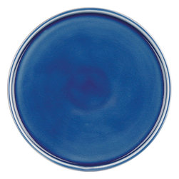 Waechtersbach - Ceramic Side Plates/Lids, Blue, Set of 4 - Timeless ceramic plates never go out of style. The earthy and natural appeal of this set makes it perfect for everyday use. You'll enjoy the beautiful cracked glaze that gives this set its signature look.