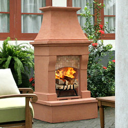 Helena Outdoor Wood Burning Fireplace The Helena Outdoor Wood Burning Fireplace Is Available
