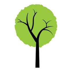 Design Your Wall - Simple Tree - Wall Decal - This charming Tree Wall Decal will look great in your living room or bedroom. It's taller than its Simple Forest counterparts and stands roughly 3 feet tall.