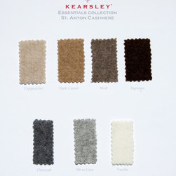Digital Sample Book - Kearsley Couture St. Anton Cashmere colors