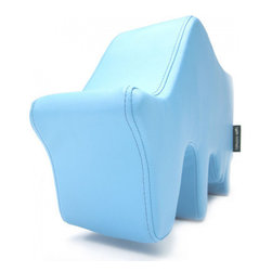 Luca and Company - Farm Animals, Blue Cow - Our farm animals are everyone's friend! A joyful and playful object for baby, children, brothers, sisters and parents. With its manageable size, light weight and super strength, it's a perfect piece of children's furniture, toy or accessory for your home.