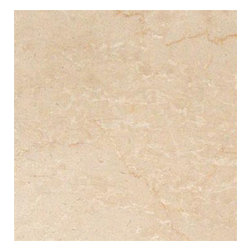 "Botticino Fiorito Polished Marble Floor & Wall Tiles 12"" x 12"" - Lot of 300 Tile - 12"" x 12"" Botticino Fiorito Marble Floor and Wall Tile is a great way to enhance your decor with a traditional aesthetic touch. This polished tile is constructed from durable, impervious marble material, comes in a smooth, unglazed finish and is suitable for installation on floors, walls and countertops in commercial and residential spaces such as bathrooms and kitchens."