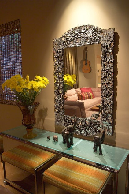 Eclectic Living Room by Jane Ellison
