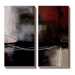 Artcom - Prelude in Rust III by Laurie Maitland - Prelude in Rust III by Laurie Maitland is a Canvas Art Set.
