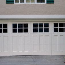 Modern Garage Doors And Openers by Automatic Door Specialists