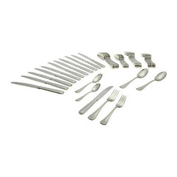 Oneida - Oneida 18/10 Stainless 62 Pc. Sets Omnia - Service for 12