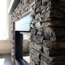 Fireplaces by Bellefield Custom Homes