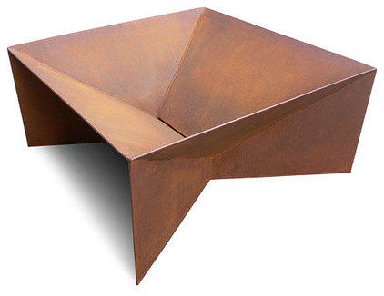 contemporary firepits by Etsy