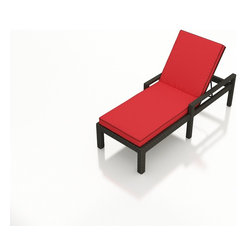 3 Pc. Barbados Outdoor Chaise Lounge Set by Forever Patio - Your patio is meant to be enjoyed, and with the 3 Piece Barbados Chaise Lounge Set by Forever Patio (FP-BAR-3CLS-EB), taking in the beauty of your outdoor space has never been so enjoyable. The set seats 2 adults comfortably, and includes 2 chaise lounges, and an end table with a glass top. This set features Heather wicker with a half round design that creates a complex and luxurious look. Every strand of this wicker is made from High-Density Polyethylene (HDPE) and is infused with its natural color and UV-inhibitors that prevent cracking, chipping and fading ordinarily caused by sunlight. The set is supported by thick-gauged, powder-coated aluminum frames that make it extremely durable and resistant to corrosion. Also included are cushions covered in fade- and mildew-resistant Sunbrella® fabric, available in a wide selection of colors. This set is a wonderful addition to any poolside, deck or wherever you feel like relaxing under the sun with style and comfort.