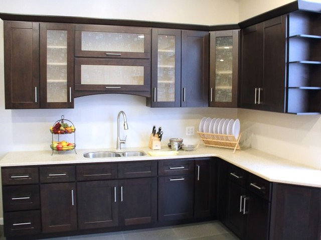 Contemporary Kitchen Cabinetry by LP Custom Countertops, LLC