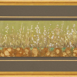 Paragon Decor - Blooming Meadow II Artwork - Mixed Media Gold Leaf