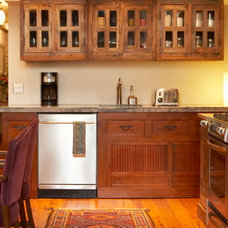 Eclectic Kitchen Cabinetry by Inde-Art Design House