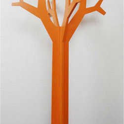 "Tree Shaped Coat Racks, Coat Stands - The tree shaped coat rack is a good choice to hang coat, hat,scarf and any thing else, it is also beautiful enough to decorate your home. The overall measurements of the Coat Tree is 0.5 ""T*58.25""H*21""W."