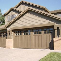 Wooden Garage Doors - Unigue overhead garage doors made in USA.
