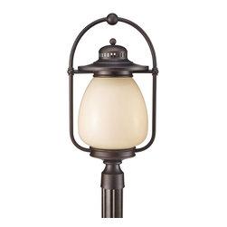 Murray Feiss - Murray Feiss Mc Coy 13W Transitional Outdoor Post Lantern Light X-ZBG8057LPLO - Murray Feiss Mc Coy 13W Transitional Outdoor Post Lantern Light X-ZBG8057LPLO