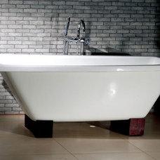 Modern Bathtubs Amata Oriental Style Dual Bath Tub