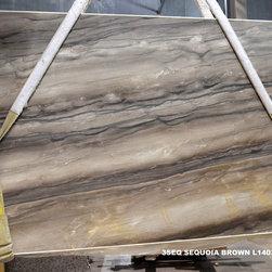 Granite & Marble Slabs - Sequoia Brown quartzite. Sequoia Brown. Natural Stone. Quartzite. Brown ...