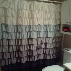 Eclectic Shower Curtains by Etsy