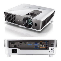 "BENQ - BENQ MX720 MX720 DLP(R) Projector - � 3,500 ANSI lumens ;� LAN control/LAN display ;� 13,000:1 contrast ratio ;� XGA resolution ;� HDMI(R) input, computer in, monitor out, composite video in, S-video in, audio in, audio out & microphone in ;� 10W speaker ;� SmartEco(R) technology extends lamp life ;� Weight: 6.4lbs ;� Dim: 4.09""H x 12.24""W x 9.6""D ;� Includes remote ;� 3-year warranty"