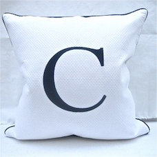 Contemporary Decorative Pillows by themonogramshops.com