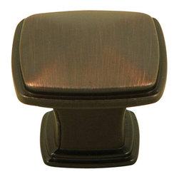 Stone Mill Hardware - Stone Mill Hardware Oil Rubbed Bronze Providence Cabinet Knob - Stone Mill Hardware - Oil Rubbed Bronze Providence Cabinet Knob
