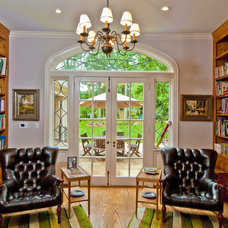 Traditional Home Office by Andrew Roby General Contractors