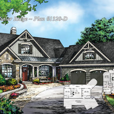 Craftsman Rendering by Donald A. Gardner Architects