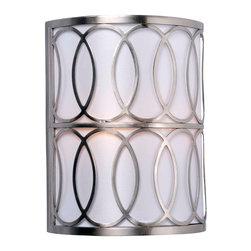 World Imports - Venn 2-Light Sconce, Brushed Nickel - 2 lights