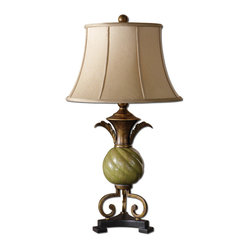 Capriva Green Table Lamp