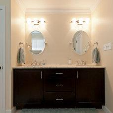 Traditional Bathroom by Virginia Tradition Builders
