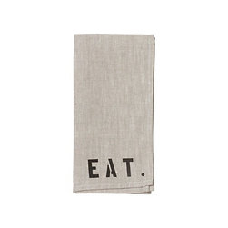 Picnic Napkin - Fabric dinner napkins generally make a meal feel more special. These linen, stamped napkins will make your next meal special and fun.
