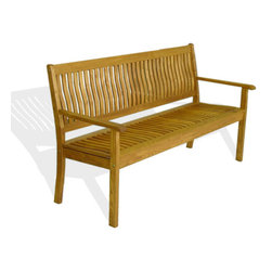 Haste Garden - Riviera Bench 3-Seat - Robinia wood is resistant to decay. All of the wood used in our furniture is sourced from Europe and is 100% FSC certificated. - Made in Poland.  SALE - was $769