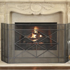 Traditional Fireplace Screens by Ballard Designs