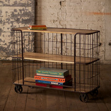 Eclectic Bar Carts by Iron Accents