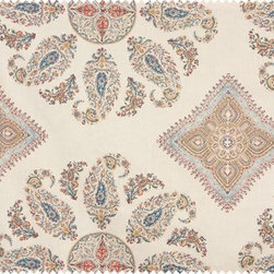 Samarkand by Peter Dunham Textiles - This stunning Peter Dunham fabric is exotic and relaxing, full of intricate details and a bold pattern overall.