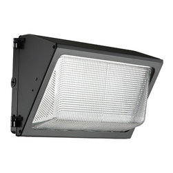Lithonia - Lithonia TWR1 35W LED Outdoor Wall Pack - The TWR LED combines traditional wall pack design with high-output LEDs to provide an energy efficient, low maintenance LED wall pack. The traditional shape helps maintain building aesthetics when replacing only a portion of your building's wall packs. TWR LED is ideal for outdoor applications such as carports, loading areas, driveways and parking areas.