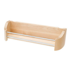 "Rev-A-Shelf - Rev-A-Shelf 4231-20-52 20"" Wood Door Storage Single Tray With Screw-In Clips ..."