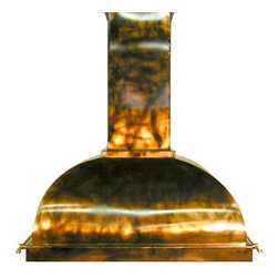 Copper range hood - copper dome - by The Metal Peddler - Stunning custom copper range hoods, the highest quality - hand made in Pennsylvania