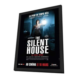 The Silent House 11 x 17 Movie Poster - French Style A - in Deluxe Wood Frame - The Silent House 11 x 17 Movie Poster - French Style A - in Deluxe Wood Frame.  Amazing movie poster, comes ready to hang, 11 x 17 inches poster size, and 13 x 19 inches in total size framed. Cast: Marea Salazar