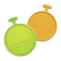 AH-YO! - That Guy! Cover Me Up - Silicone Coasters, Two Pack - That Guy has you covered! This two-pack gives you a total of 4 coasters (2 green, 2 dark yellow) featuring his fun giant grin and iconic scowl.