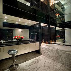 Modern Bathroom by Pepe Calderin Design- Modern Interior Design