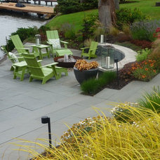 Contemporary Patio by Lankford Associates Landscape Architects