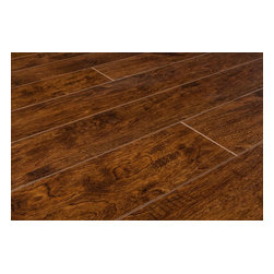 Toklo - Toklo Laminate - 12mm Ancient Spice Collection - [19.8 sq ft/box]   This flooring is everything you ever wanted from a hardwood floor, but in a versatile laminate floor. The textured hardwood look is captured in supreme look and feel that pays attention to the details. The colors follow current design trends, and capture the spirit of timeless ones too. These laminate flooring options are designed to suit any type of d̩cor, from traditional to avant-garde.    Laminate flooring at an unbelievable price    This flooring, made using the latest technology from high-end German engineering, will fulfill all your expectations for that look and feel of a real wood surface. Deep and complex colors, real wood texture and excellent durability will enhance your home d̩cor and provide value to your space.     Don't try to find this laminate flooring at your big box store: you'll be asking in vain. You might find it at a specialty store, but BuildDirect offers you the best prices that specialty stores can't match. When visitors ask about the cost of your new hardwood floors, you can tell them the truth that they're actually sophisticated laminate floors' or you can keep the secret to yourself!    High-end laminate flooring at low-end prices    How can BuildDirect offer you this amazing product for such a low price? Simple. We partner with the best manufacturers across the world to bring you high-quality, high-value products. Then, we make them available to you through our unique web-based platform so that you can arrange delivery without paying for traditional steps in the supply chain.     Our state-of-the-art distribution network streamlines the delivery process and finds the fastest route to bring your product to your home or business. The result? Low prices, high quality and fast delivery. And with our post-purchase support and world-class customer service, you are in good hands from your first visit to our website to the product delivery.