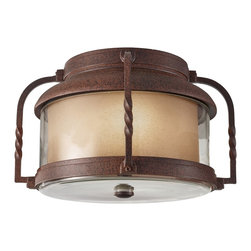Murray Feiss - Murray Feiss Menlo Park Transitional Outdoor Flush Mount Ceiling Light X-NC3129L - Murray Feiss Menlo Park Transitional Outdoor Flush Mount Ceiling Light X-NC3129LO