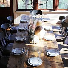 Beach Style Dining Room by Yvonne McFadden LLC