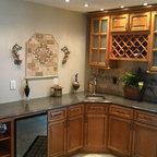 Light Brown Kitchen Cabinets  | Sandstone Rope Door  |  Kitchen Cabinet Kings - Light Brown Kitchen Cabinets  | Sandstone Rope Door  |  Kitchen Cabinet Kings